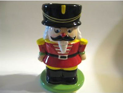 Nutcracker Candle and Tart Burner