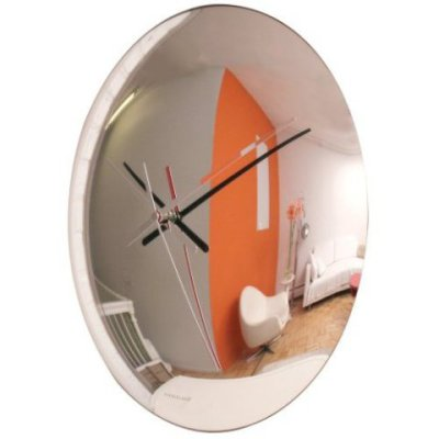 Spy-Mirrored Wall Clock