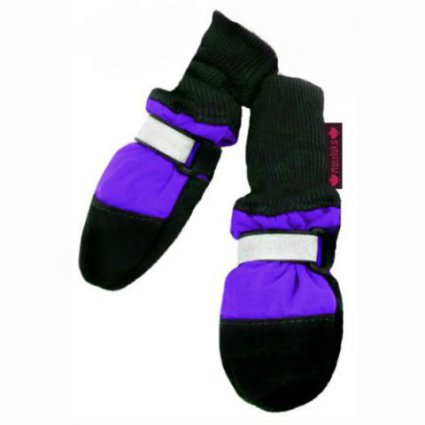 Muttluks Fleece-Lined Leather Dog Boots