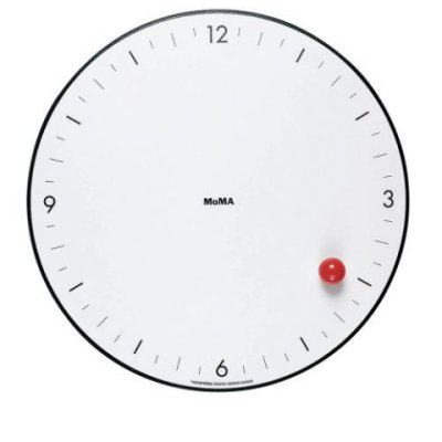 MoMA Timesphere Wall Clock: by Gideon Gegan for MoMA