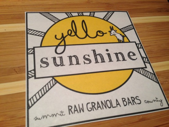 Yello Sunshine Bars