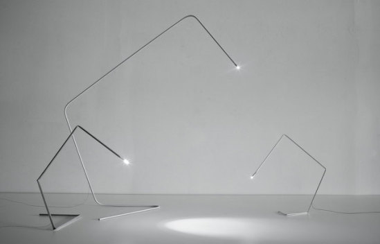 STICK lamps, biomimetic design: © Todd Bracher