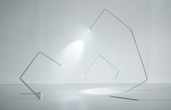 STICK lamps, biomimetic designs: © Todd Bracher