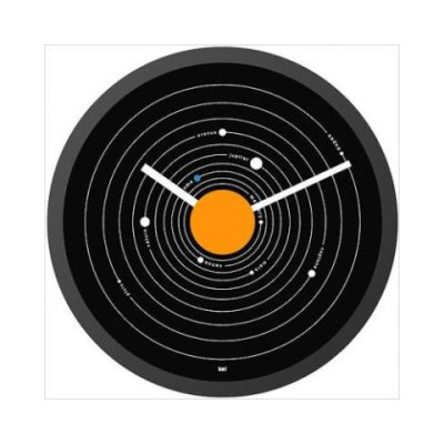 Solar System Wall Clock