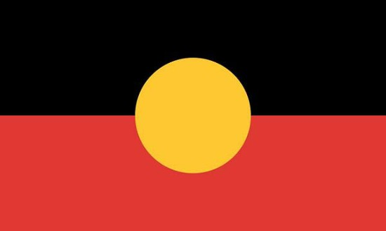 The Aboriginal Flag design, a proposed new country flag for Australia: image via smh.com.au