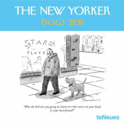 The New Yorker Dogs 2011 Wall Calendar