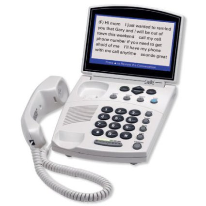 Hamilton Cap-Tel 840i Real-Time Closed Caption Telephone