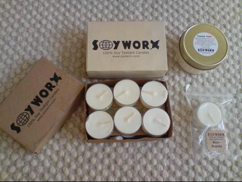 Unscented Tea Lights by Soyworx