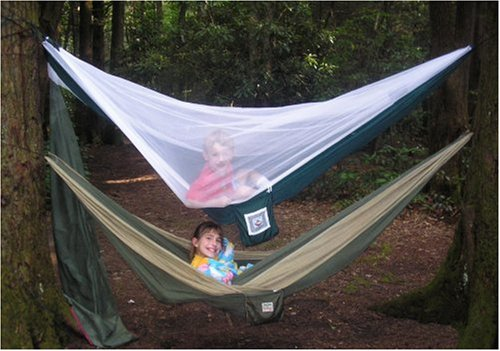 Kids In The Mosquito Free Hammock Bliss