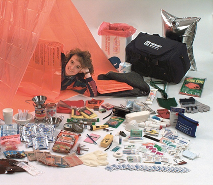 Nitro-Pak 72 Hour Survival Kit for 2 or 4 persons: © Nitro-Pak