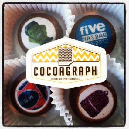 Cocoagraph of corporate gifts for 'Five Below': image via facebook.com/Cocoagraph