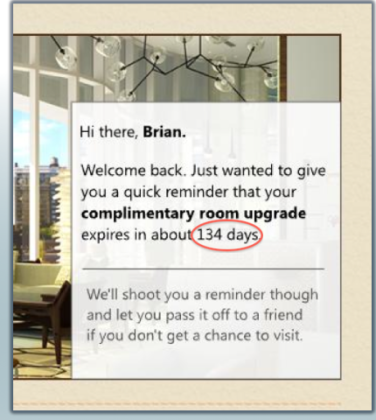 Flip.to Room Upgrade Expiration Reminder