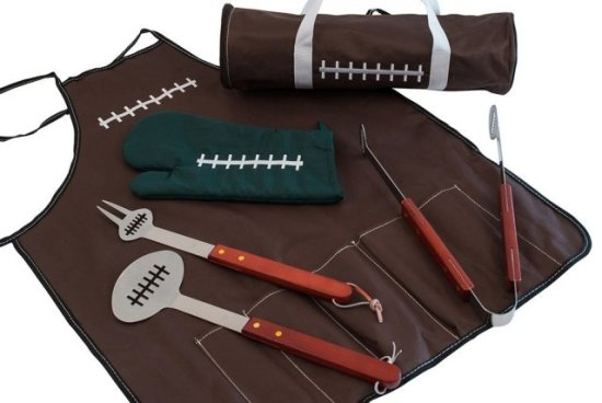 All American Football BBQ Set
