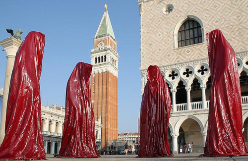 Guardians of Time: St. Marks Square, Venice