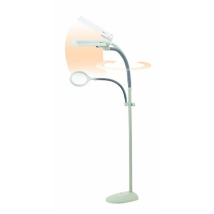 OttLite Easy View Craft Floor Lamp