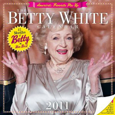 Betty White 2011 Calendar