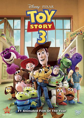 Toy Story 3 DVD:  Disney