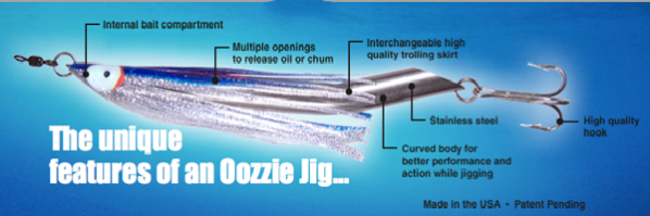 Oozzie Jig Features