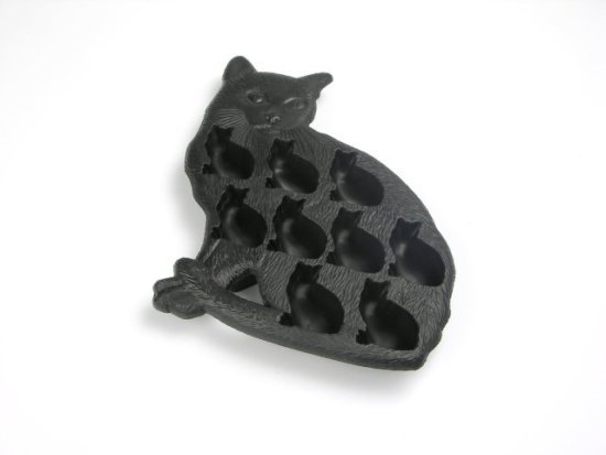 Cat Ice Cube Tray by Lekue: image via amazon.com
