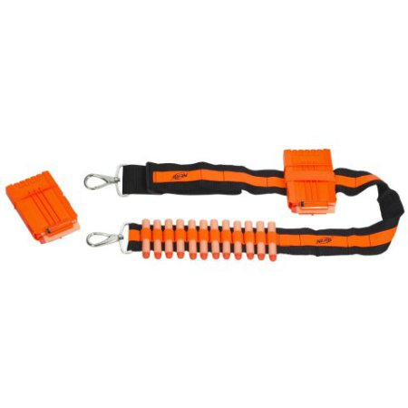 Nerf Bandolier: being heavily armed is fun!