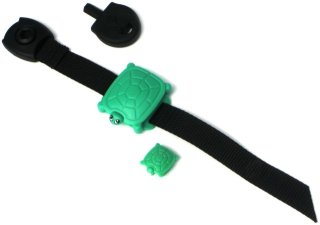 Adjustable Safety Turtle Collar Alarm can also be worn as a bracelet on a child