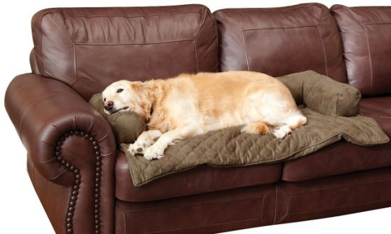 Solvit Bolstered Pet Bed Sofa Cover (large)