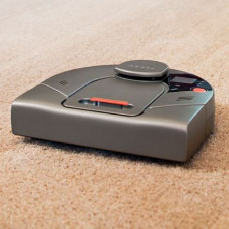 Laser Guided Robotic Vacuum: image via Hammacher Schlemmer