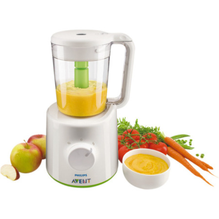 Philips Combination Steamer &amp;amp; Blender (Baby food maker):  Royal Philips Electronics