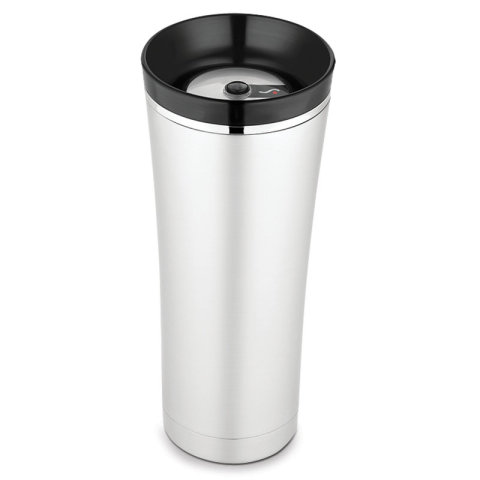 Thermos Sipp 16-ounce Travel Tumbler looks similar to other travel cups, but that's where the similarity stops