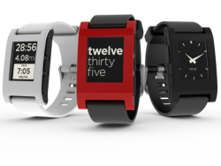 Pebble smartwatch: image via wikipedia.com