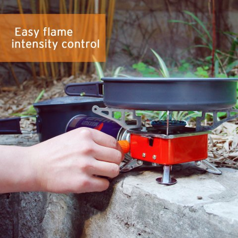 Control Flame Intensity