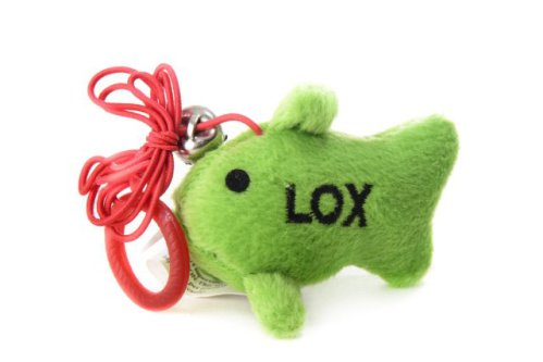 Lox Fish Cat Toy on String