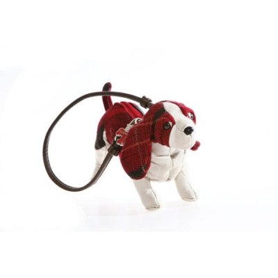 Fuzzy Nation Boston Terrier Keychain