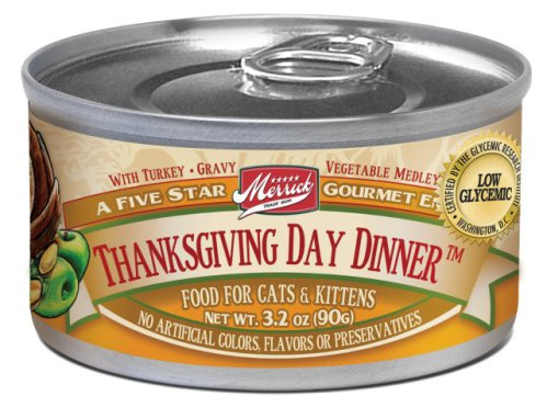 Merrick Thanksgiving Day Dinner for Cats & Kittens