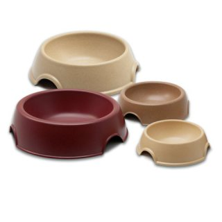 Loving Pets Bambu Round Bowls In 3 colors ind sizes