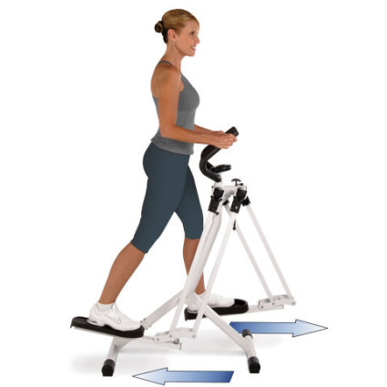 Omnidirectional Thigh Trainer vertical, swing motion: image via hammacher.com