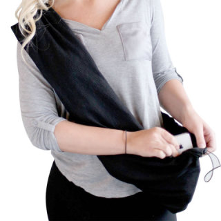 Travel Hands Free Wrap as a shoulder bag: image via hammacherschlemmer.com