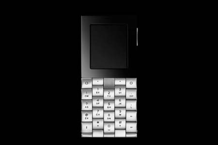 The +YvesBehar Cell Phone: © YvesBehar