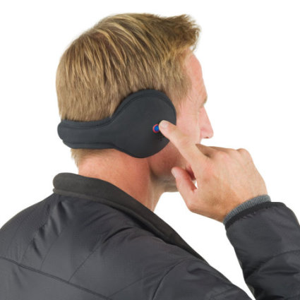 Wireless Speaker Ear Muffs: image via hammacherschlemmer.com