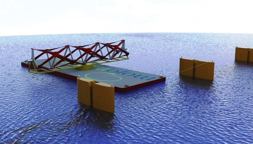 THAWT: these new horizontal water turbines from Kepler Energy are several times more efficient than previous methods of tidal energy harvesting.