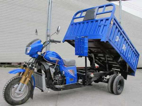 Dump Truck Trikes Are Mini Mighty Motorcycles