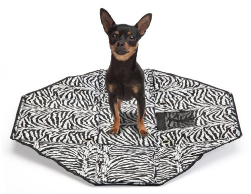 Sherpa Park Tote Pet Carrier open