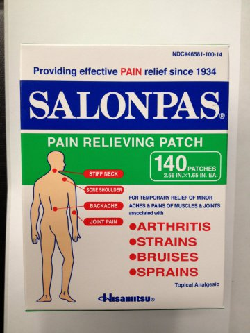 Salonpas Pain Relieving Patches