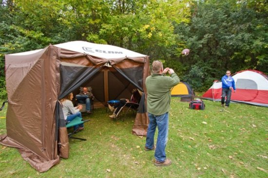 Tailgating With The Quick-Set Pavilion