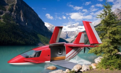 The 2015 James Dyson Foundation: Wolfram Boehm is currently designing his ALA DC 310 Amphibious Ambulance Aircraft which will rescue people in remotely populated areas.