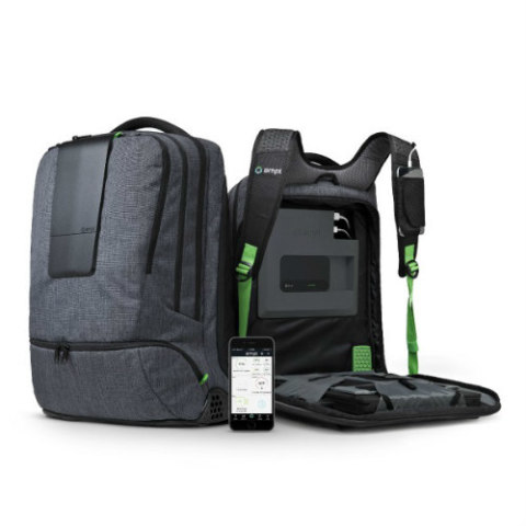 AMPL, World's Smartest Backpack: Keep your electronic devices charged (image via AMPL)