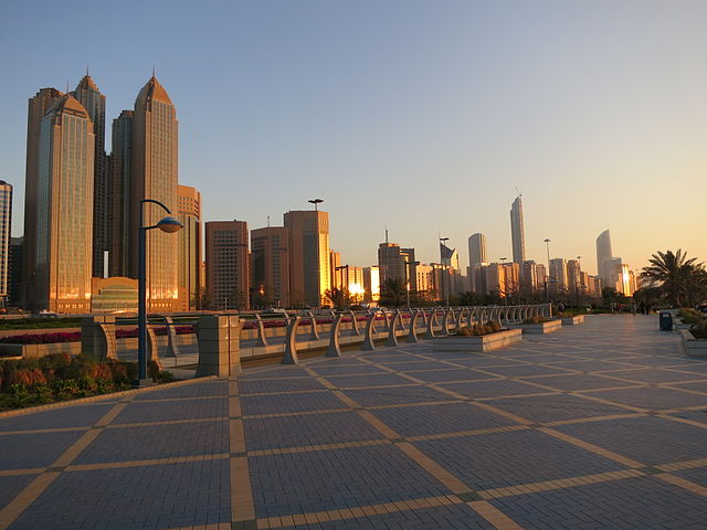 Abu Dhabi, host of the World Future Energy Summit: Photo by FritzDaCat