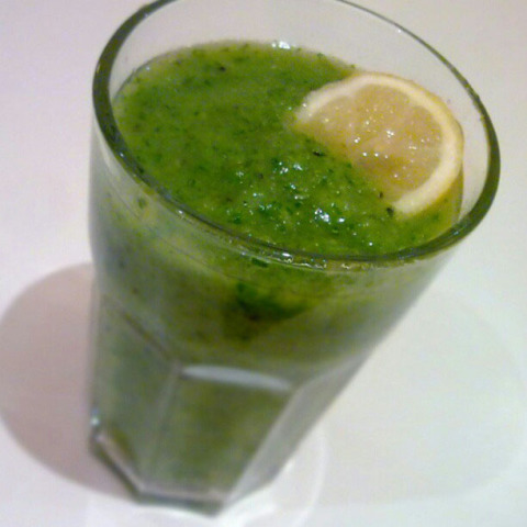 Algae Smoothie: Green Smoothie