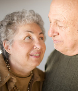 Caregiver spouses are at higher risk for Alzheimer's disease: image via Home Instead Senior Care