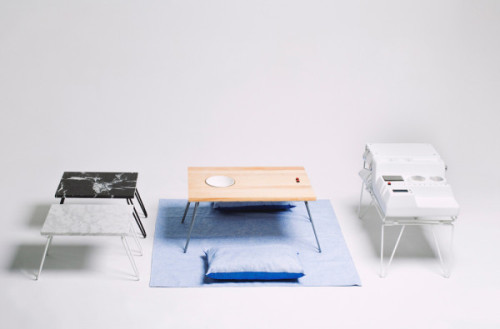 Technopicnic Tables: Source: Atelier Teratoma